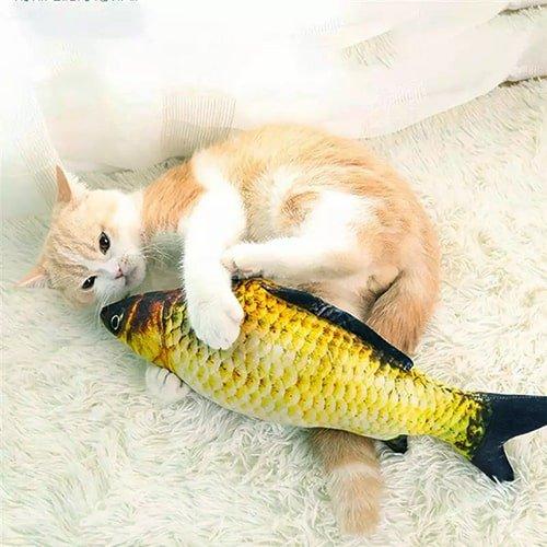 Мягкая плюшевая игрушка в форме рыбки