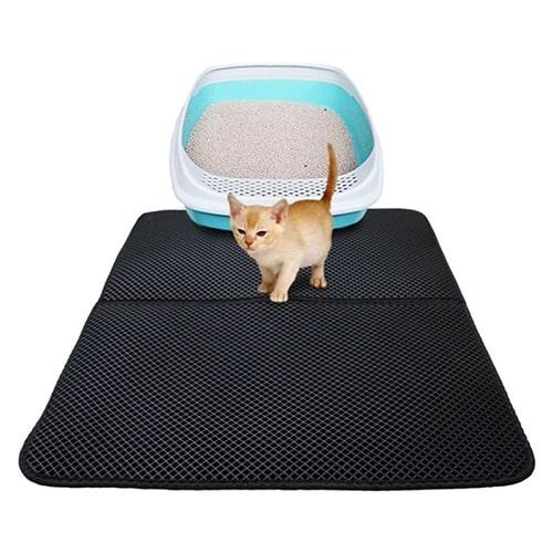 Товары для кошек - Водонепроницаемый коврик для туалета